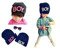 Hot Sale Lovely  Baby Hats And Caps Kids Boy Girl Crochet Beanie Hats Winter Cap For Children To Keep Warm