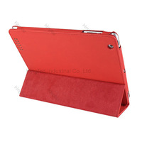 100 pcs/lot for  iPad 2 3 4 New iPad New Protective leather Smart Case with Reversal Stand