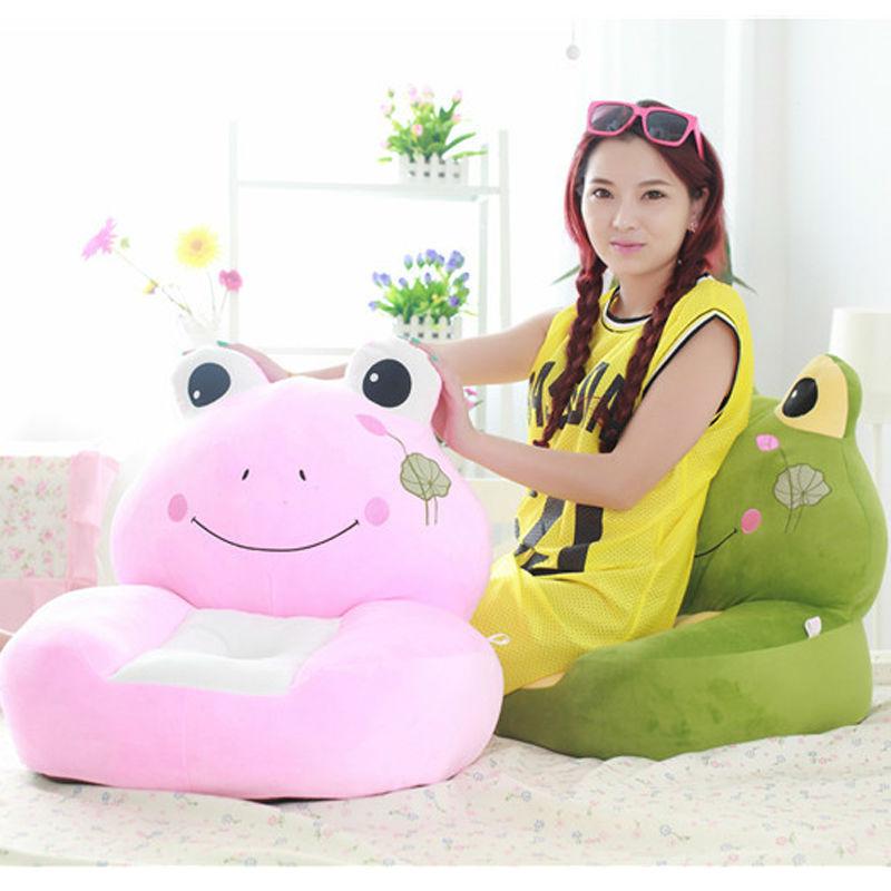 Cartoon shape sofa kids chair children cushion armchair bean bag baby furniture(China (Mainland))