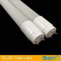 New design 100% plastic 18W T8 led tube light Best selling in russia online shopping