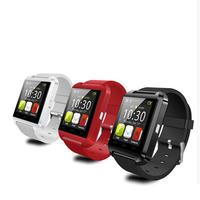 Fashion Bluetooth Silicone Smart Watch WristWatch U8 U Watch for iPhone 4/4S/5/5S Samsung S4/Note 2/Note 3 HTC