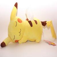 Pokemon Pikachu Plush Tissue Box Table Decoration & Accessories Cartoon Funny Home & Garden Itmes