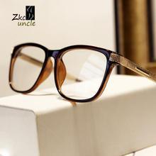 2015 fashion brand work gold metal legs computer eye glasses frames men eyewear women best gift oculos de grau y556