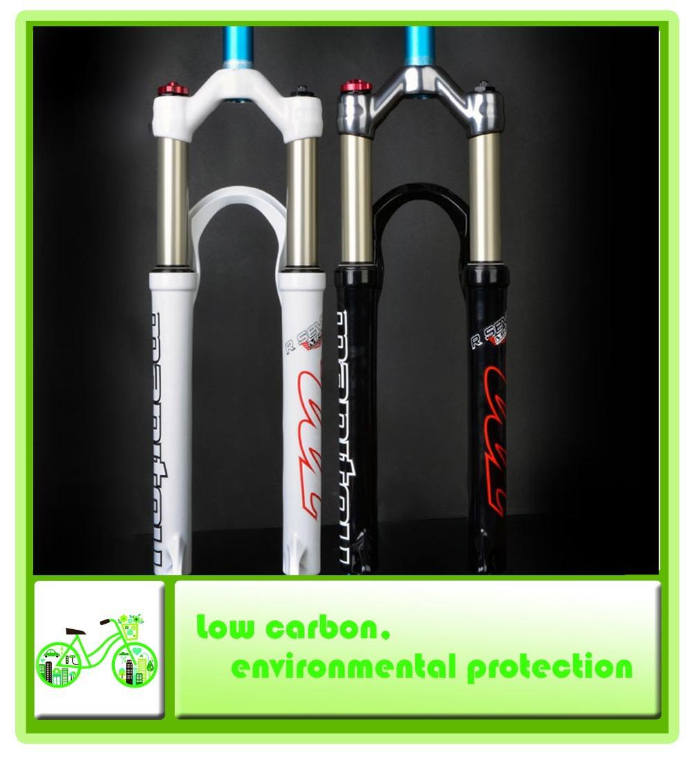 "2014 models MANITOU R7 MRD 26 ""mountain bike suspension fork air pressure / AL7050 XC fork 1420g Professional(China (Mainland))"