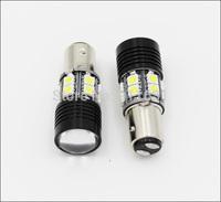 2PCS High Power 1157 7W CREE Q5 12 LED Light Car Head Light Bulb White Lamp DC 12V-30V Brake Lights #H005B