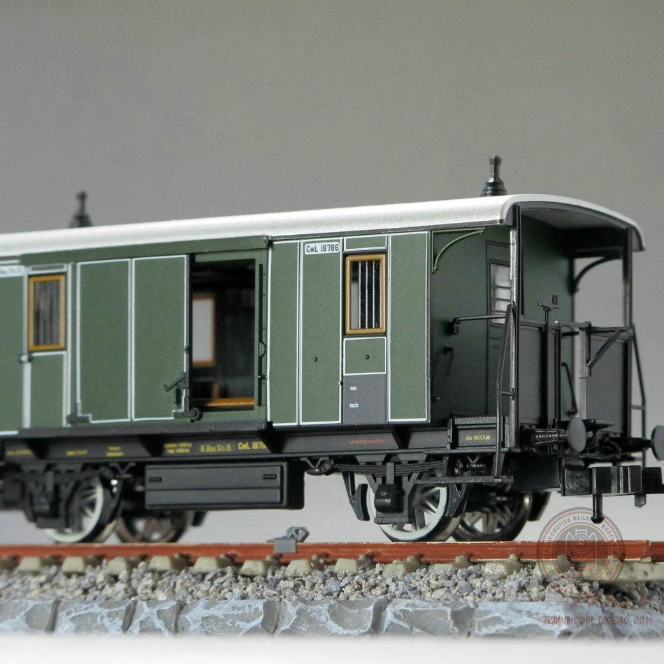 Cool model trains original German Bavarian theme FLEISCHMANN short passenger compartment section four sets(China (Mainland))