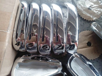 SLDR Golf irons set 4-9,PAS golf clubs with steel shaft free headcover freeshipping