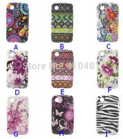 10PCS/LOT-Paisley Flowers/USA UK Flag/Zebra/ TPU Gel Cover Case for LG L40 D160(15 Designs)