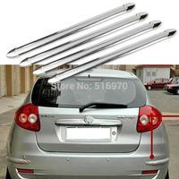 4pcs/set car anti-collision strip bumper protector Car crash bar anti-rub bar retail Bumper crash for free shipping