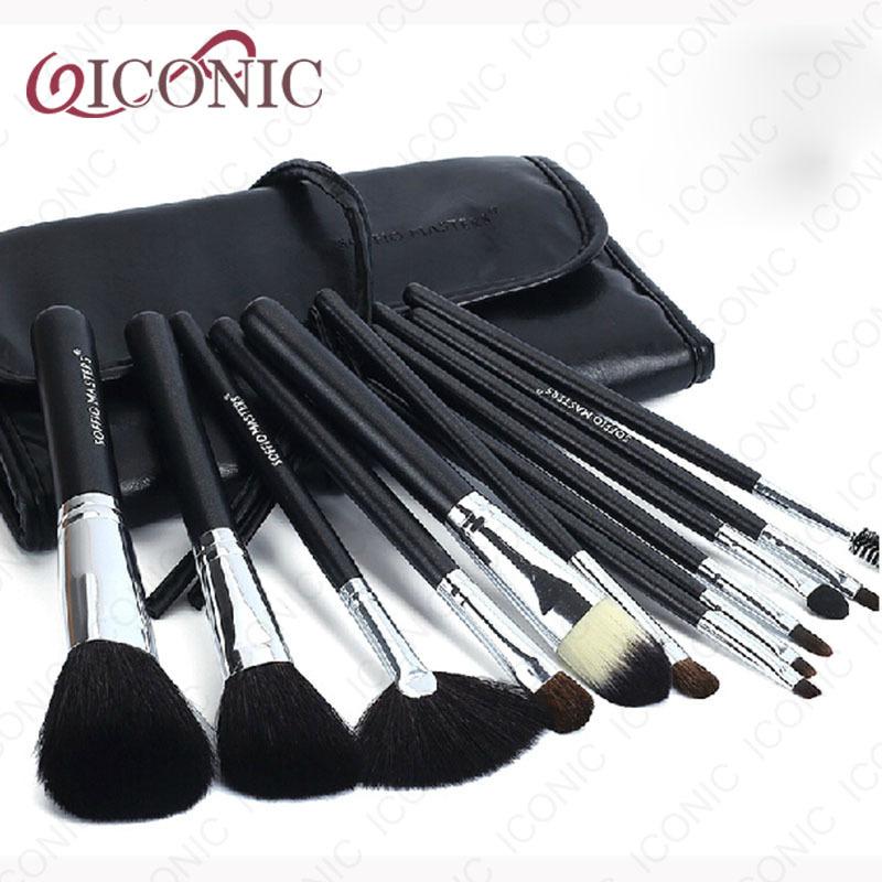 Makeup Brush Icon 2014 Hot Kit Brushes Professional 12 Pcs Makeup Brush Set Cosmetic Tools Kit