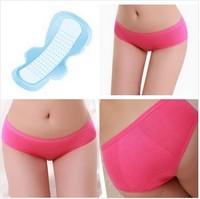 hotsale Factory sale  Menstrual Sanitary Period Leak proof Modal Seamless Panty Underwear Women XL Size Women's Briefs Panties