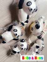 New Cute panda family style  squishy charm / mobile phone strap Pendant / Wholesale