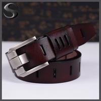 Free Shipping Famous Brand Design Male Belts Men's Belts Genuine Leather Belt Men Cow Leather Belt