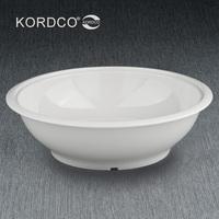 melamine tableware porcelain Large soup pots melamine tub pickled fish bowl belt bowl accept customize and mix order