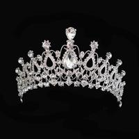 2014 New Arrival Grace Hair Jewelry Crystal Austrian Tiara Wedding Pageant  Rhinestones Crown Bridal Hair Accessory XB33