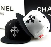 2014 New Brand Design Sample Cross Black And White Baseball Cap Women & Men Hip Hop Hat High Quality