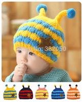 Casual Warm Baby Winter Bomber Hats Acrylic Little Bee Style Baby Warm Bomber Hats 2114 For 1-4T