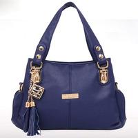 Clearance Sale Women Messenger Bags 2015 Fashion Shoulder Bag Tassel Crossbody Bag Hot PU Leather Tote New Woman Handbag