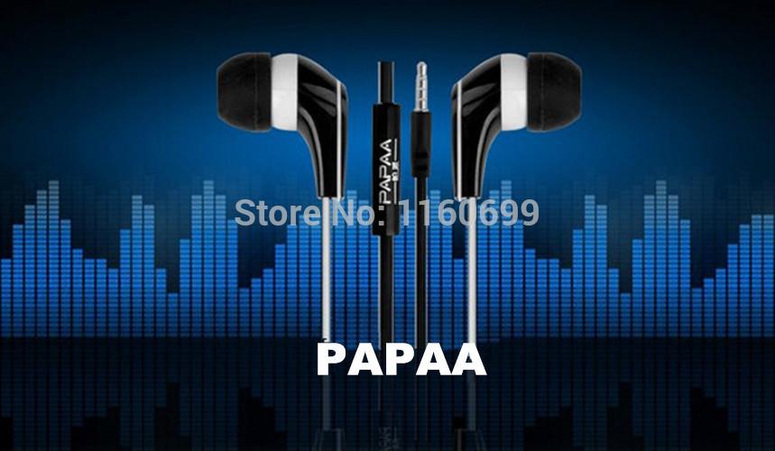 Наушники для мобильных телефонов PAPAA! 3,5 & iphone HTC ipad mp4 psp