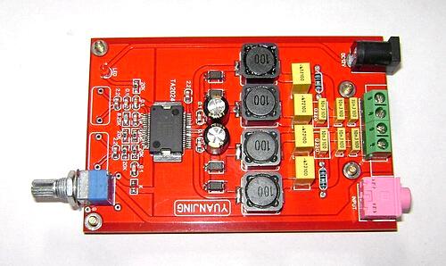 Snew Tripath DIY аудио TA2024