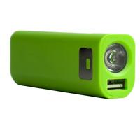 Patent LED flashlight power bank  2600mAh full capacity power bank pack passed rohs