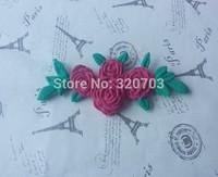 Beautiful Fresh Rose Shape, Popular Food Grade Silicone Mold For Fondant Decorating C078