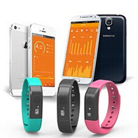 1PC Smart 3 Colors Activity Wristband Watch Pedometer Bracelet Motion Record Step/Distance/Calorie/Sleep Monitor Fitness Tracker