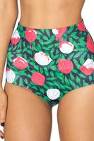 Yomsong Explosion Models Sexy Fashion Blackmilk Digital Printing Rose Waist Tight Shorts Wholesale  Retail