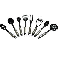 Visna Good Grips 8-piece Nylon Kitchen Utensil Tool Set(None Shelf)