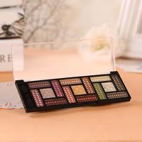Cosmetics, eye shadow 15 color eye shadow disc nude smokey-eye make-up palette