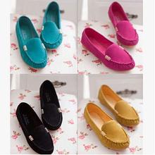 Comfortable Women Flat Shoes Spring Autumn Cute Slip-on Shoes For Women 4 Colors sapatos femininos casual Cute alpargata DX184(China (Mainland))