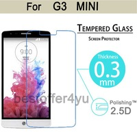 Explosion-proof Anti Shatter Premium Tempered Glass Screen Protector Guard film For LG G3 mini D722 D725 D728 D724