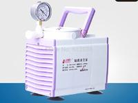 Oil Free Diaphragm Lab Vacuum Pump 0.33A 20L/m Pressure Adjustable For Chroma