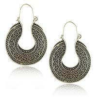 E1542 New Vintage Style Antique Silver brincos pendientes earrings for women