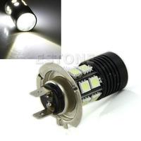 J35 Free Shipping H7 12 5050 SMD +12W Cree XP-E SMD led light bulb Fog Car Light Lamp White
