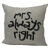 "New Home Decorative Sofa Cushion Cover Throw Pillow Case 18"" Vintage Cotton Linen Square Cute"