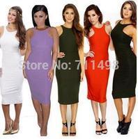 New Arrival Women Sexy Party Evening Dress Green Elegant Long Dress Bandage Casual Dress Vestidos Femininos