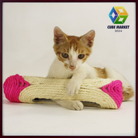 Cube market pet shop Pet colorful deisgn Cat Scratch Board Cat Toys Products For Cats Free Shipping
