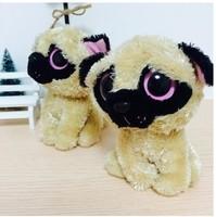 """TY big eyes dog doll  2pcs/lot 15cm (5.91 """") plush doll birthday best gift  for child big eyed dolls  AB103"""