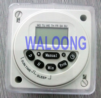 TNT free shipping 10pcs/lot digital timer switch time relay top quality