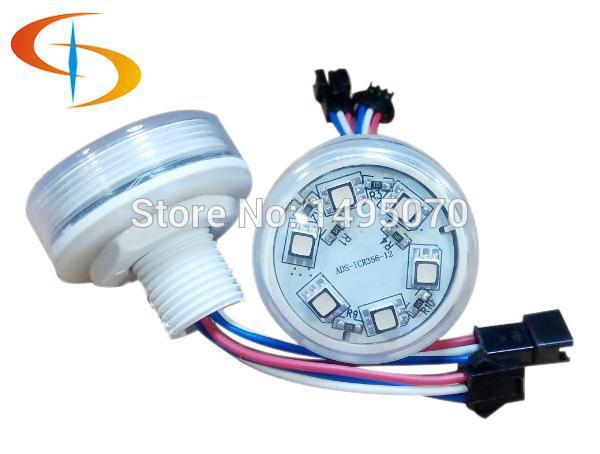 RGB 45mm LED Amusement ucs1903 led pixel 6 points rgb for Ferris Wheel ADS-IC456(China (Mainland))