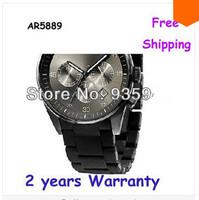 New AR5889 5889 Japan Chronograph Quartz Movement Mens Watch With Original box