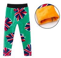 2014 Free shipping Boys&Girl Pants New Winter Children Pants Boys Velvet Pants Kids Trousers Children Cotton Pants