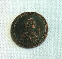 Copper:1796 RUSSIA COIN COPY FREE SHIPPING
