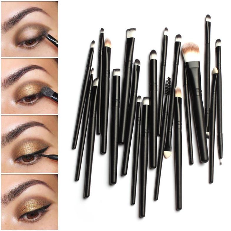 Кисти для макияжа Unbranded 20pcs # EC064 лазер для охоты unbranded fit 11 20 a40002