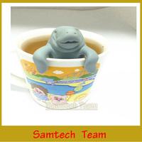 Free Drop Shipping Funny Manatea Infuser,Manatee Mana Tea Strainers,Tea infusers tools & 2Pcs/lot