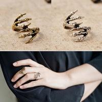 1PCS Free Shipping Hot New Fashion Vintage Punk Ring Retro Eagle Bird Claw Ring Women Men Jewelry Gift