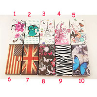 Fashion wallet case For Wiko Darkmoon FLower Butterfly pattern leather FLIP cases cover