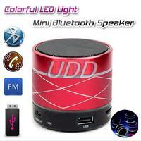 B13 Bluetooth Speaker Mini USB Flash Disk Sound Card Multi-Function Colorful LED Portable Wileress Speaker FM Radio With Display