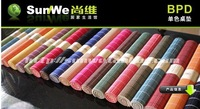 wine bar and home use bamboo mat can choose color Environmental monochromatic   bowl /table mat free shipping